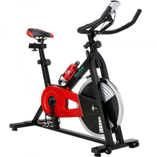 Finether Exercise Bike Indoor Chain Driven Cycling Stationary Bicycle