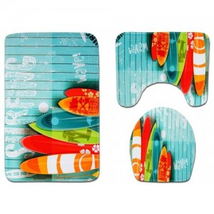 Small Fresh Printed Toilet Seat Comb...