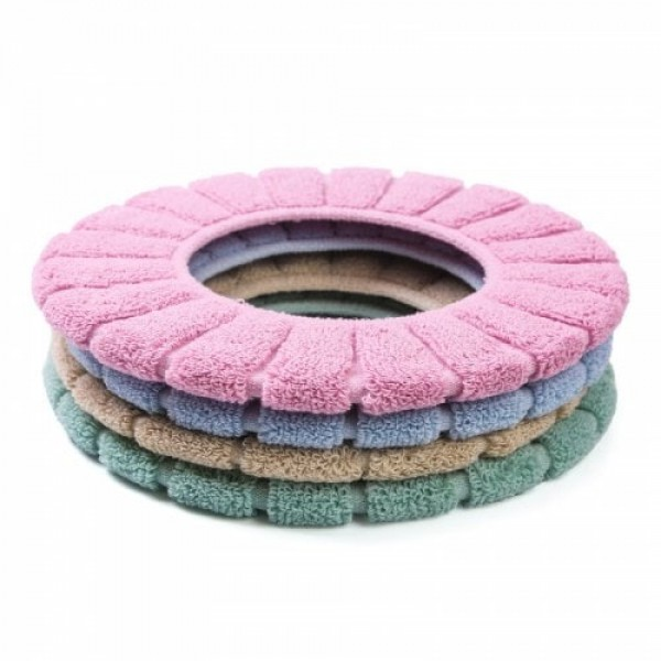 4PCS Warm and Thickened Toilet Seat ...